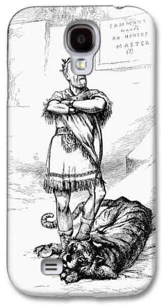 Nast Hewitt Cartoon, 1886 Galaxy S4 Case