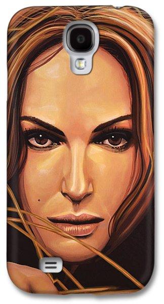 Seagull Galaxy S4 Case - Natalie Portman by Paul Meijering