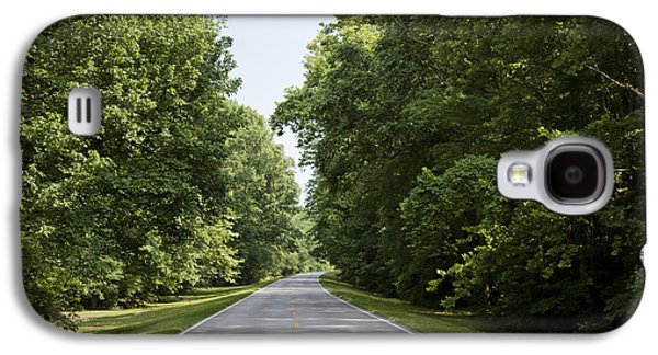 Natchez Trace Parkway In Cobert County Galaxy S4 Case by Carol M Highsmith