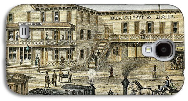 National Hotel  Warwick, 1875 New York Galaxy S4 Case by Prisma Archivo