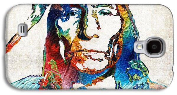Native American Art By Sharon Cummings Galaxy S4 Case