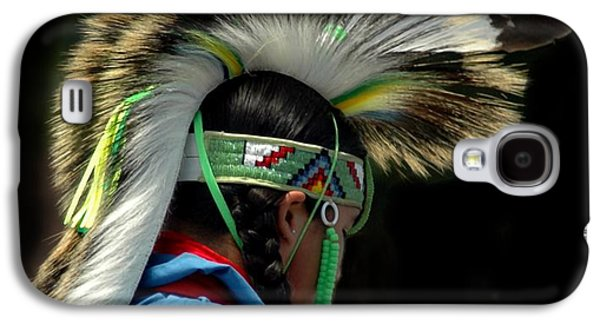 Native American Boy Galaxy S4 Case by Kathleen Struckle
