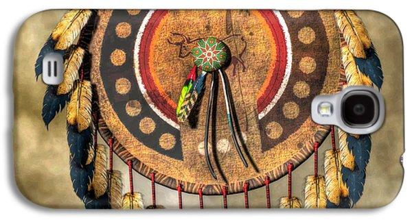 Native American Shield Galaxy S4 Case by Daniel Eskridge
