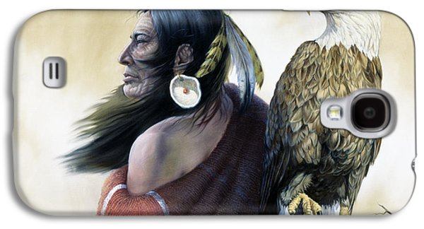 Native Americans Galaxy S4 Case by Gregory Perillo
