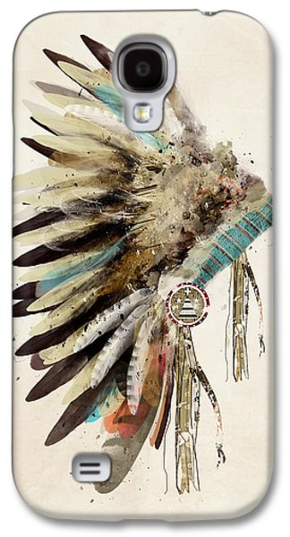 Native Headdress Galaxy S4 Case