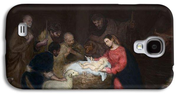 Nativity Galaxy S4 Case by Walter Lynn Mosley