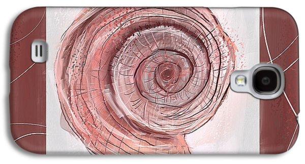 Natural Allure- Marsala Pantone 18-1438 Galaxy S4 Case