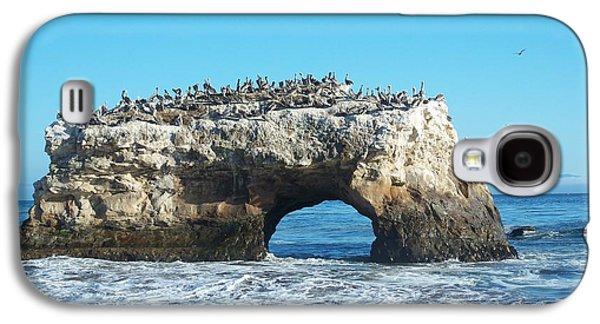 Natural Bridges State Beach Galaxy S4 Case by Georgia Fowler