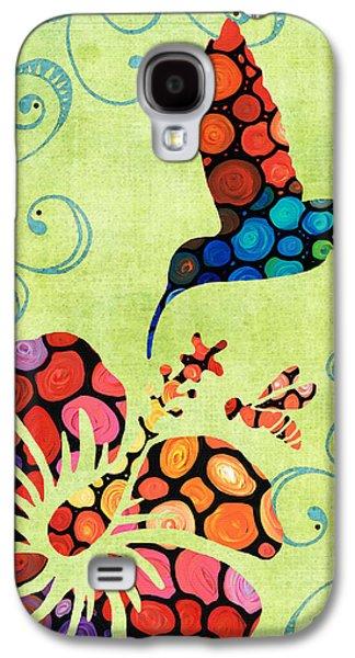Nature's Harmony 2 - Hummingbird Art By Sharon Cummings Galaxy S4 Case by Sharon Cummings