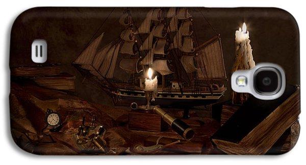 Nautically Inspired Galaxy S4 Case by Mary Tomaino