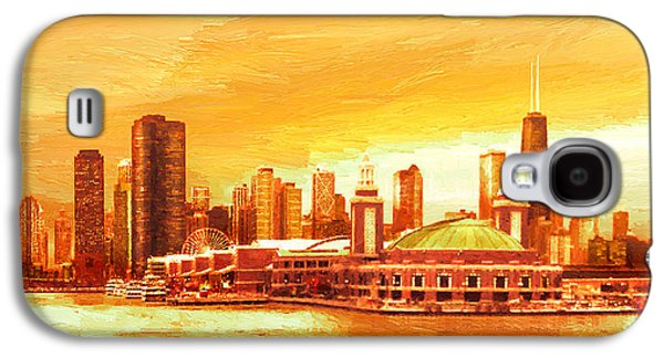 Navy Pier Chicago --autumn Galaxy S4 Case