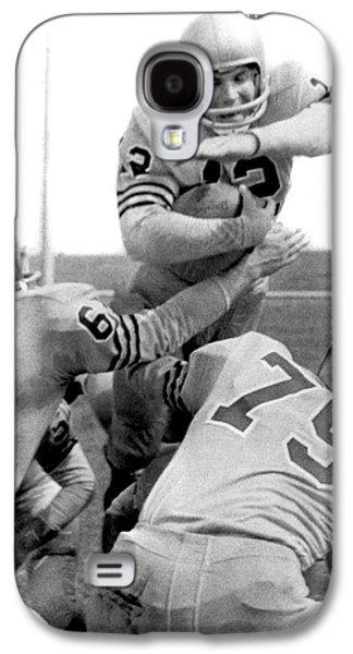 Navy Quarterback Staubach Galaxy S4 Case by Underwood Archives