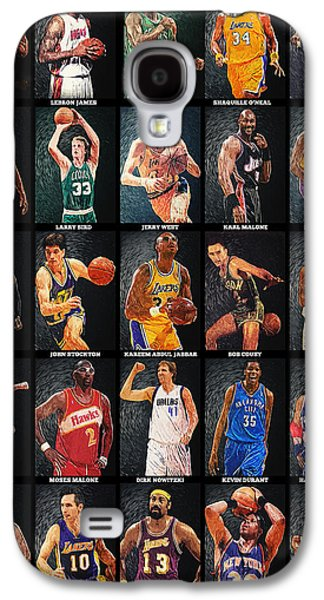 Nba Legends Galaxy S4 Case by Taylan Apukovska