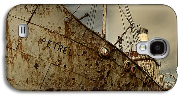 Neglected Whaling Boat Galaxy S4 Case by Amanda Stadther