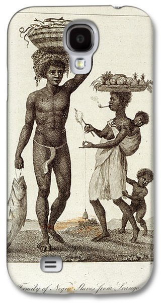 Negro Slaves Galaxy S4 Case by British Library