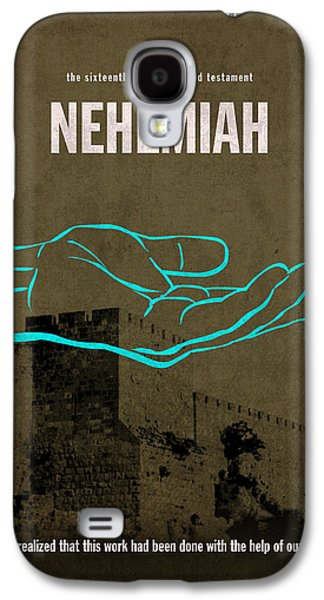 Nehemiah Books Of The Bible Series Old Testament Minimal Poster Art Number 16 Galaxy S4 Case