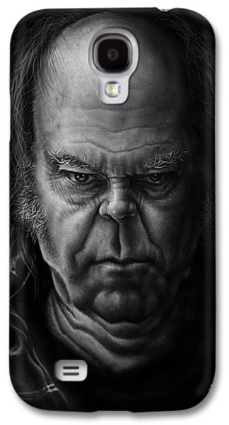 Neil Young Galaxy S4 Case by Andre Koekemoer