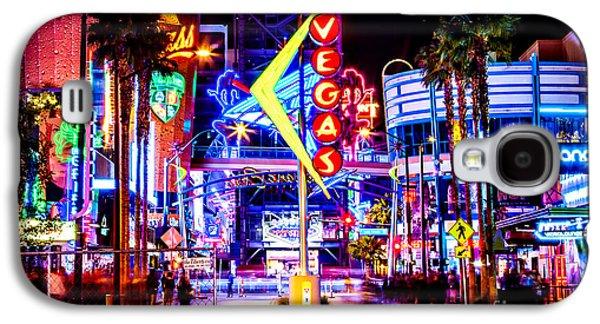 Neon Vegas Galaxy S4 Case