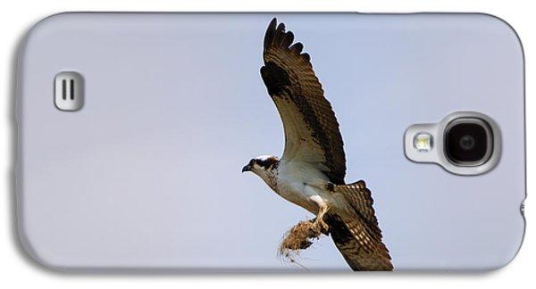 Osprey Galaxy S4 Case - Nest Builder by Mike  Dawson