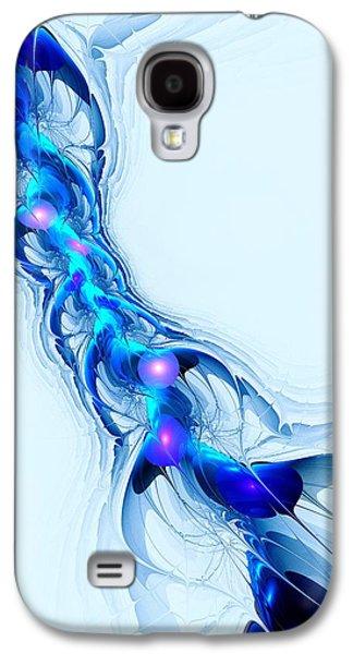 Neural Channel Galaxy S4 Case by Anastasiya Malakhova