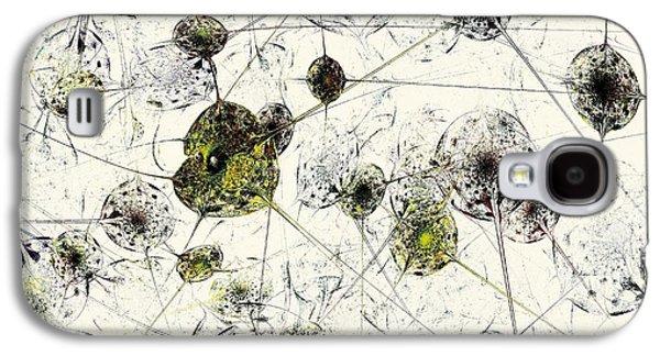 Abstract Digital Art Galaxy S4 Case - Neural Network by Anastasiya Malakhova
