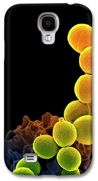 Neutrophil Engulfing Mrsa Galaxy S4 Case by National Institute Of Allergy And Infectious Diseases (niaid)/national Institutes Of Health