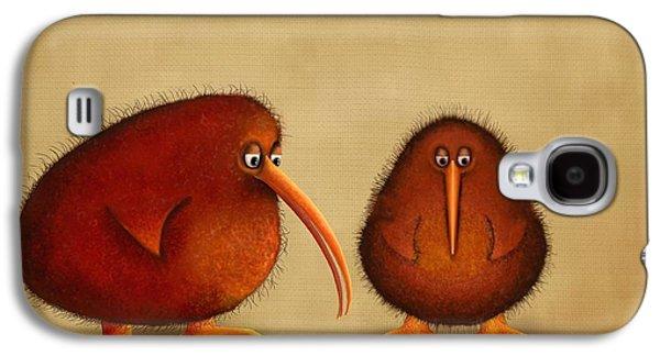 New Arrival. Kiwi Bird - Sweet As - Boy Galaxy S4 Case by Marlene Watson