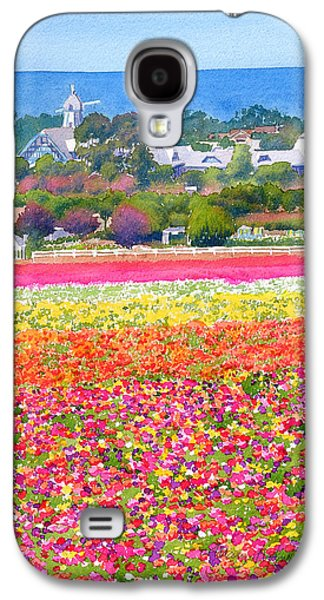 New Carlsbad Flower Fields Galaxy S4 Case by Mary Helmreich