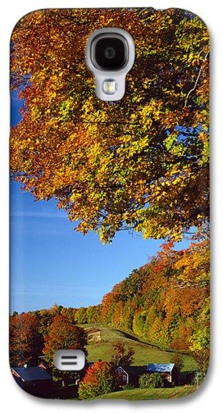 New England Autumn Galaxy S4 Case