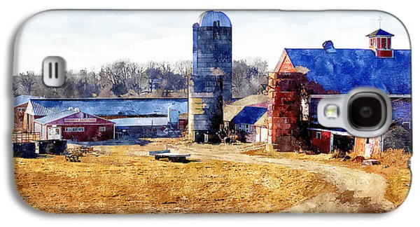 New England Farm 2 Galaxy S4 Case by Rick Mosher