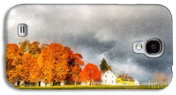 New England Village Galaxy S4 Case by Edward Fielding