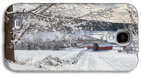New England Winter Farms Galaxy S4 Case