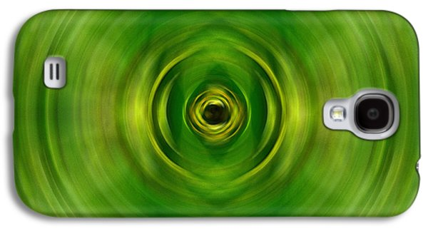 New Growth - Green Art By Sharon Cummings Galaxy S4 Case by Sharon Cummings