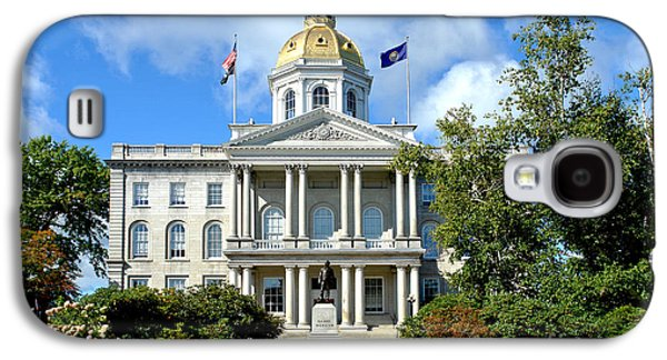 New Hampshire State Capitol Galaxy S4 Case by Olivier Le Queinec
