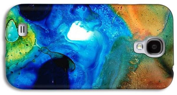 New Life - Abstract Landscape Art Galaxy S4 Case by Sharon Cummings
