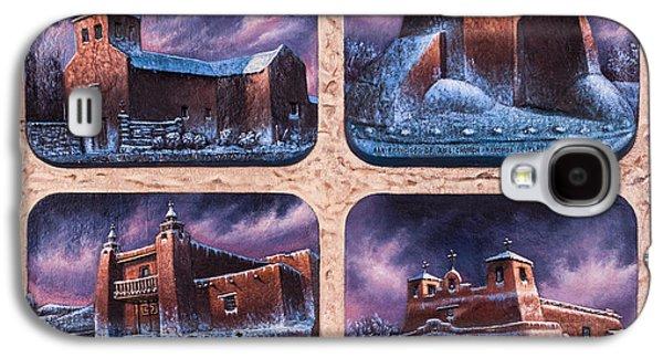 New Mexico Churches In Snow Galaxy S4 Case