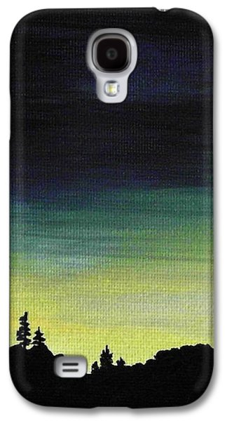 New Moon Galaxy S4 Case by Anastasiya Malakhova