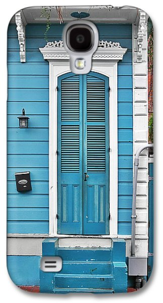 New Orleans Front Door Galaxy S4 Case by Christine Till