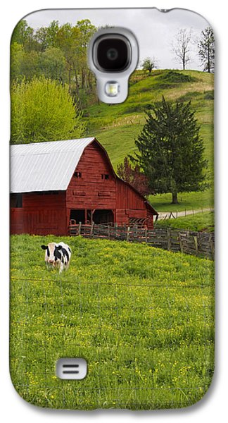 New Red Paint Galaxy S4 Case by Mike McGlothlen