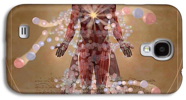New Vitruvian Man Galaxy S4 Case