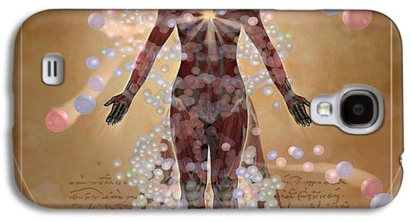 New Vitruvian Woman Galaxy S4 Case