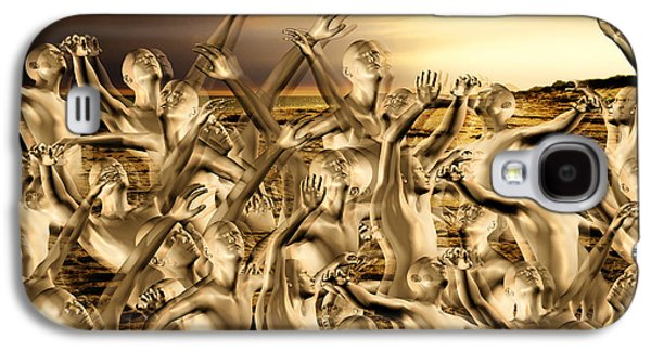 New World Surrender Galaxy S4 Case by Betsy Knapp