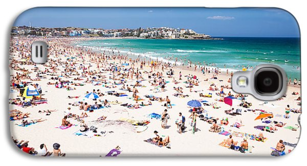 New Year's Day At Bondi Beach Sydney Australi Galaxy S4 Case by Matteo Colombo