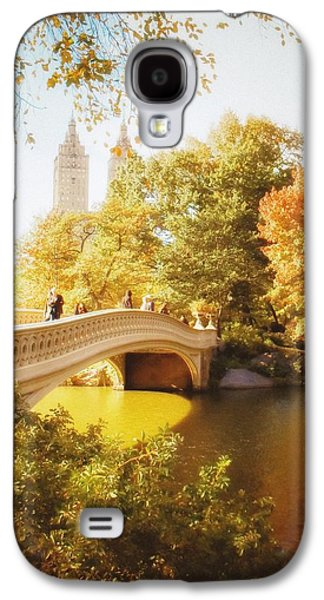 New York Autumn - Central Park - Bow Bridge Galaxy S4 Case