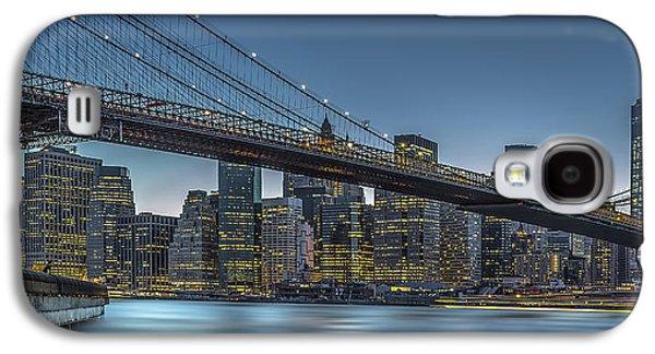 New York - Blue Hour Over Manhattan Galaxy S4 Case