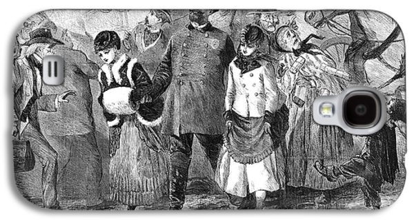 New York Broadway, 1870 Galaxy S4 Case