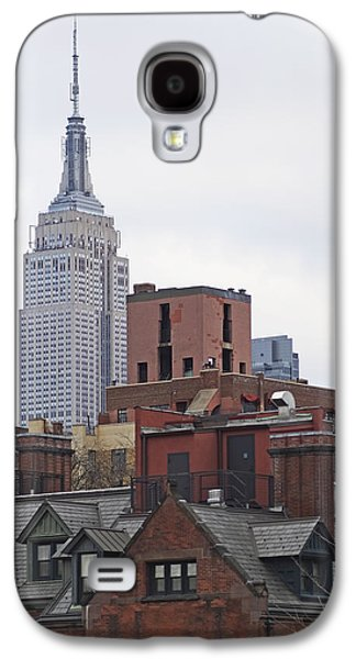 New York Buttes Galaxy S4 Case by Rona Black