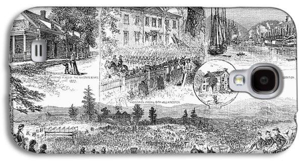 New York Centennial, 1877 Galaxy S4 Case by Granger