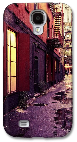 New York City Alley Galaxy S4 Case by Vivienne Gucwa