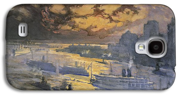 New York City Circa 1921 Galaxy S4 Case by Aged Pixel